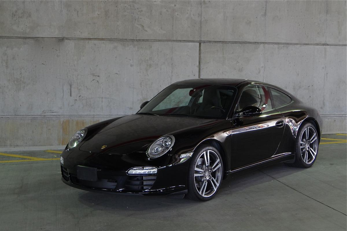 2012 Porsche 911 C2 997 Black Edition Reduced Corcars