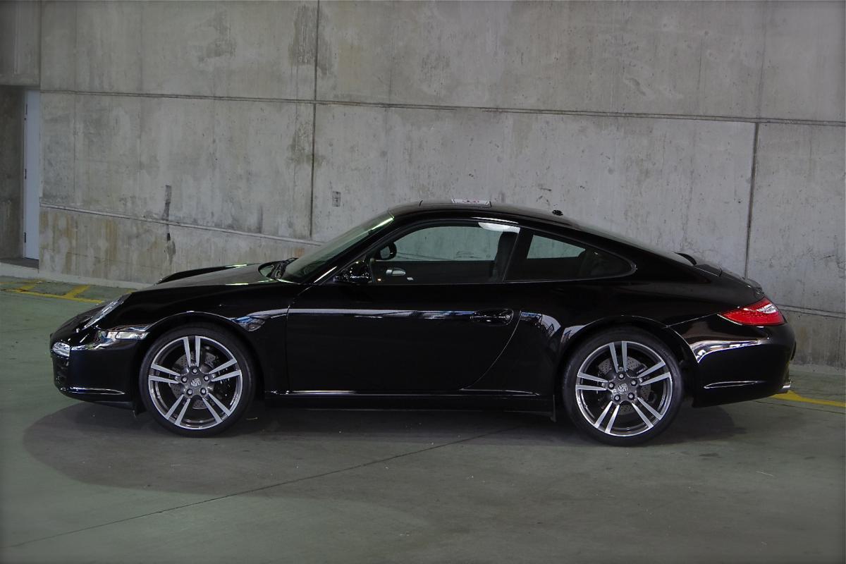 2012 Porsche 911 C2 997 Black Edition Reduced Corcars
