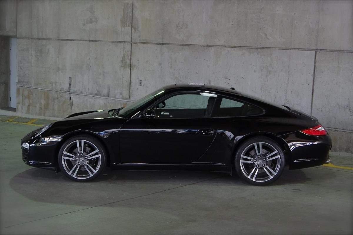 2012 Porsche 911 C2 997 Black Edition Reduced Cor