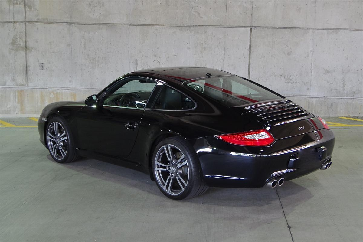 2012 porsche 911 c2 997 black edition reduced corcars. Black Bedroom Furniture Sets. Home Design Ideas