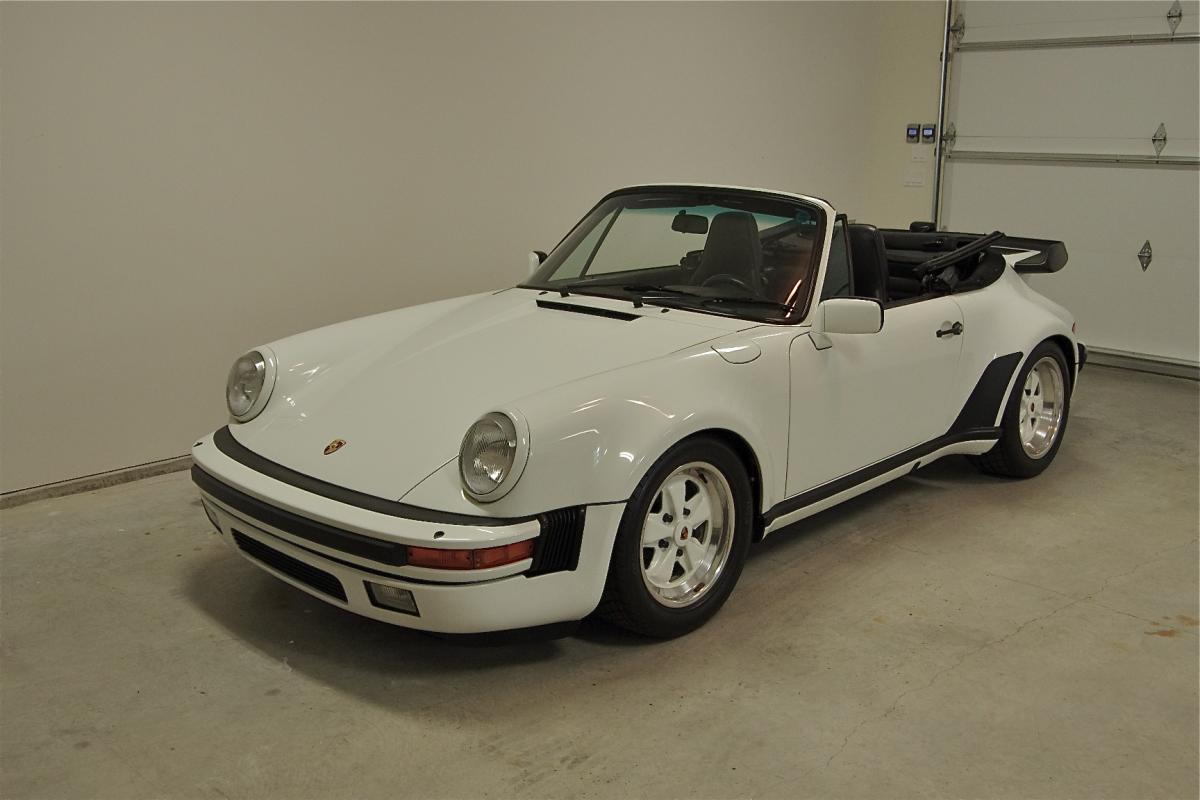 1986 porsche 911 turbo look corcars. Black Bedroom Furniture Sets. Home Design Ideas