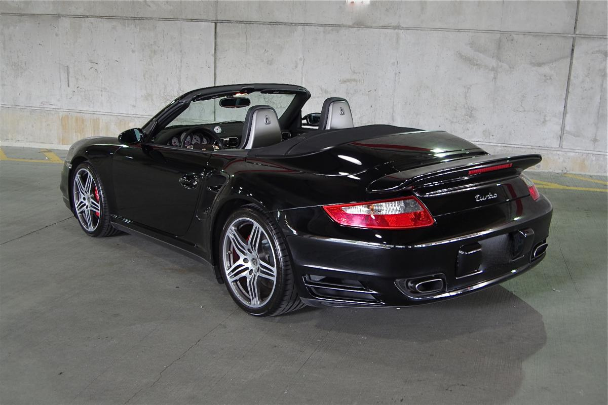 2008 porsche 911 turbo cabriolet corcars. Black Bedroom Furniture Sets. Home Design Ideas