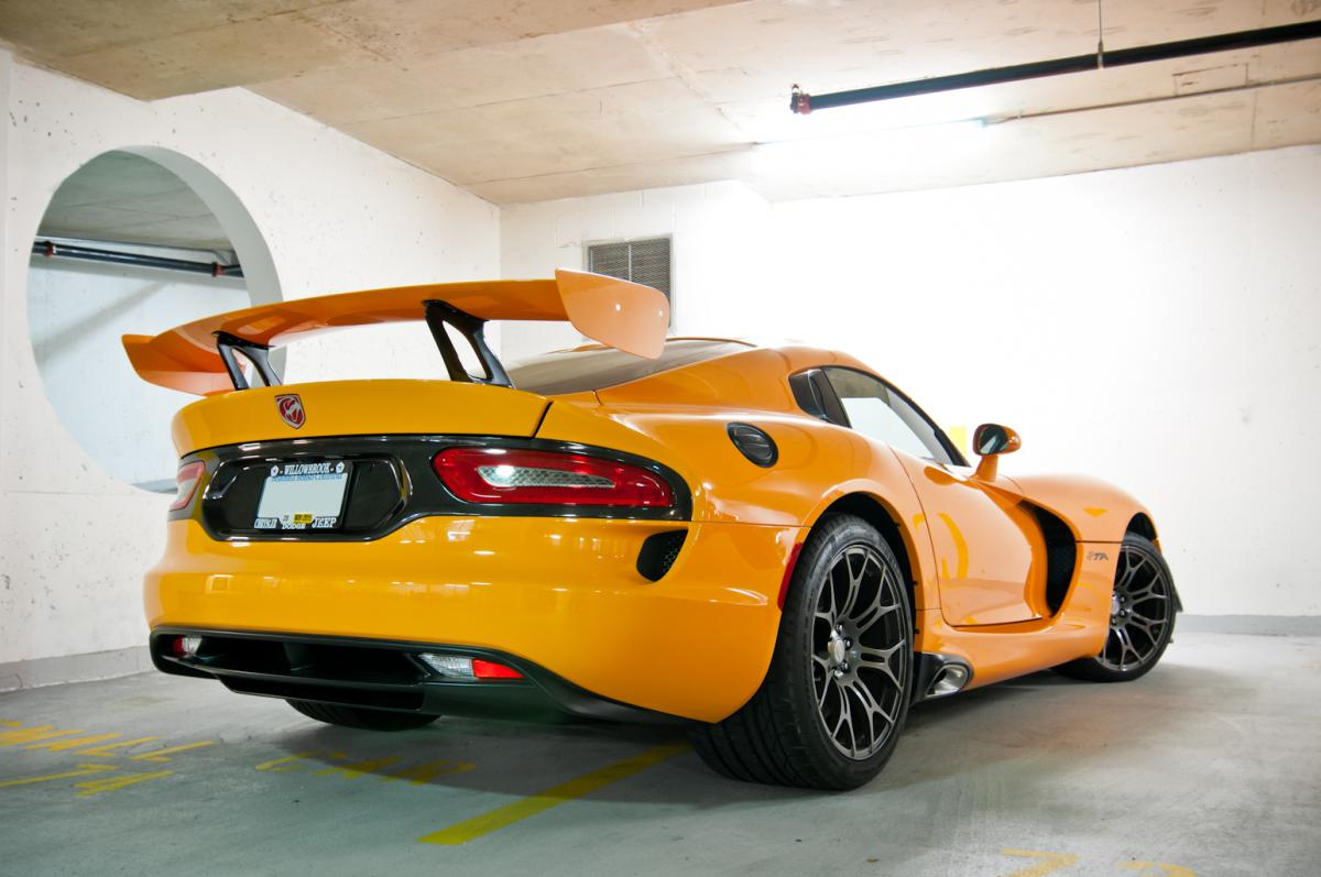 Dic M on Dodge Viper Suspension