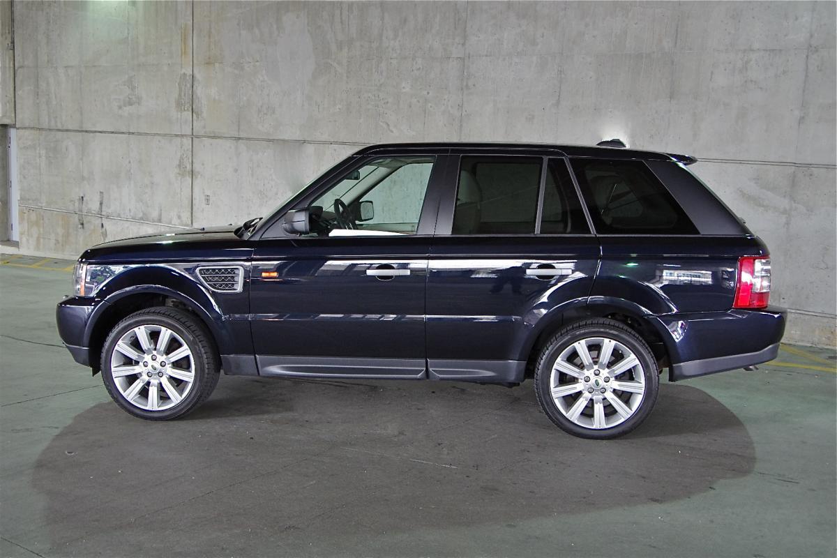 2008 Land Rover Range Rover Sport Hse Cor Motorcars