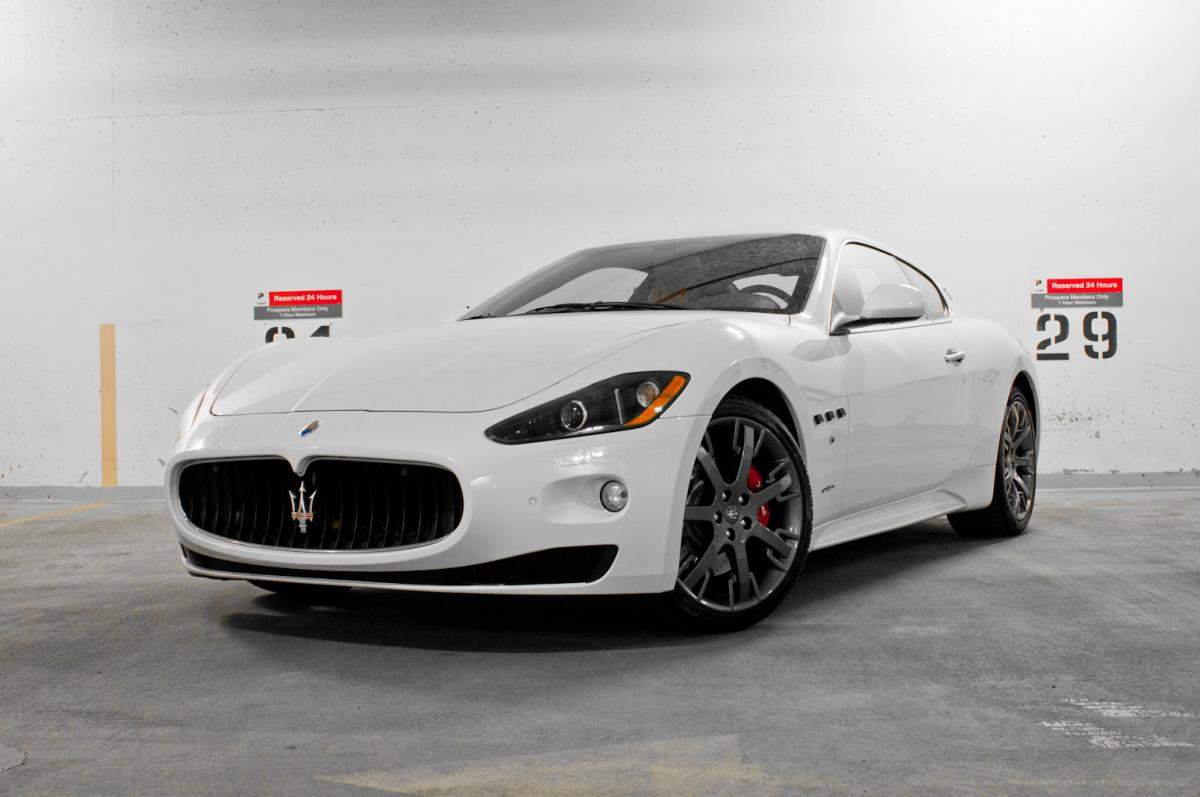 2009 maserati granturismo s 4 7 cor motorcars. Black Bedroom Furniture Sets. Home Design Ideas
